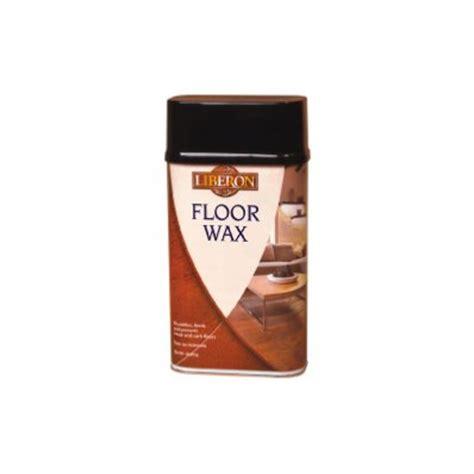 Hardwood Floor Wax by Liberon Wood Floor Wax Clear 1ltr Wholesalers Of