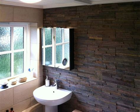 Bathroom Feature Wall Ideas by David S Bathroom Feature Wall Split Tiles Walls