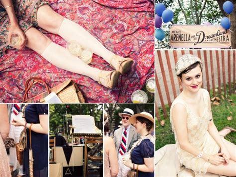 roaring 1920s vintage wedding inspiration onewed