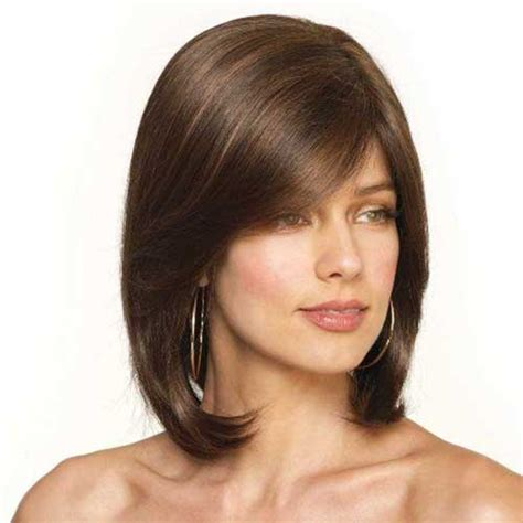 growing bangs out over 40 15 bobs for mature women bob hairstyles 2017 short