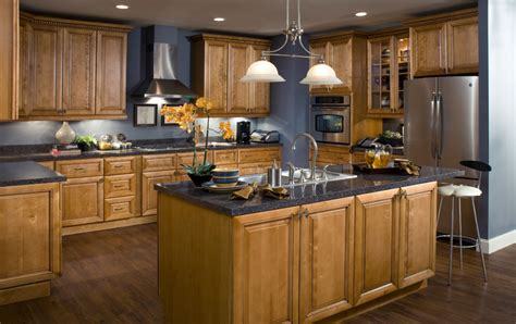 All Wood Kitchen Cabinets by Lancaster Toffee Glaze Kitchen Cabinets