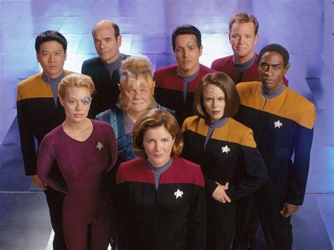 cat crew de b 228 sta episoderna fr 229 n trek voyager 1995 2001