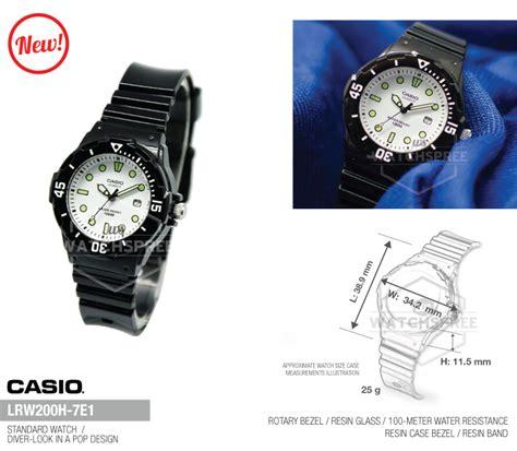 Casio Standard Lrw 200h 7e1 Original Casio Standard Analog Lrw200h 7e1 Ebay