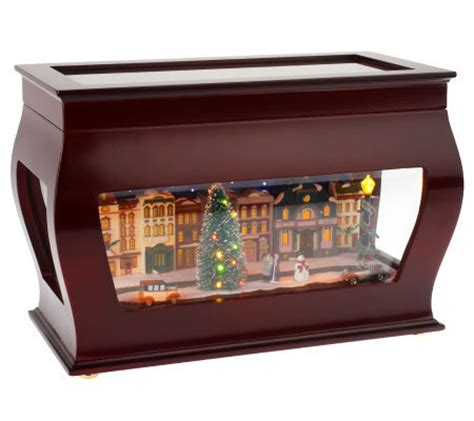 mr christmas animated symphony of bells music box page