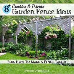 Creative Garden Fence Ideas 8 Creative Amp Private Garden Fence Ideas Diy Home Sweet Home