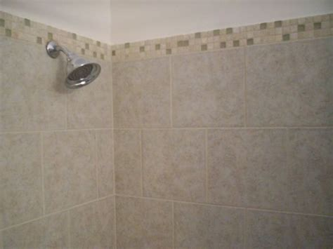 Subway Tile Bathroom Floor Ideas help me pick bathroom tile border for shower weddingbee