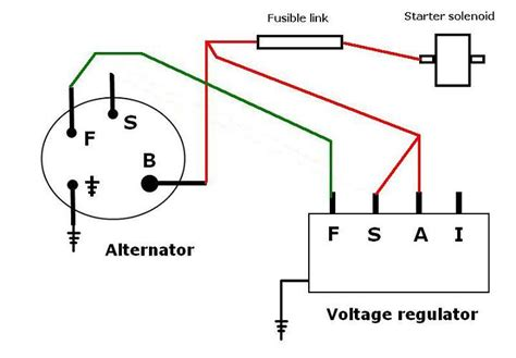 voltage regulator wiring diagram 1976 ford voltage get