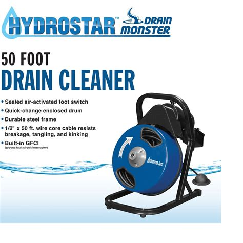 electric sink drain cleaner 50 ft compact electric drain cleaner