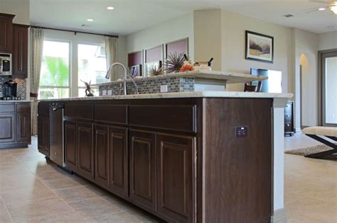 Kona Kitchen And Bath by Kona Stain Color Is A Popular Choice Burrows Cabinets