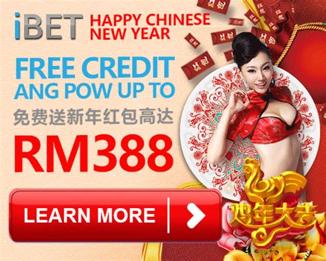 new year 2016 fd promotion ibet casino free credit paket for new year