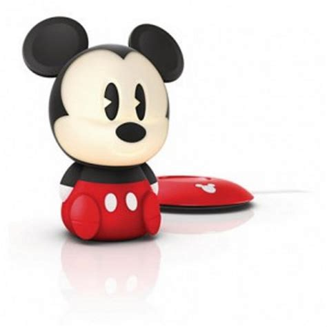 mickey mouse lighting for children philips disney softpal mickey mouse led black portable