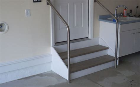 handrails for outside steps metal handrail for stairs