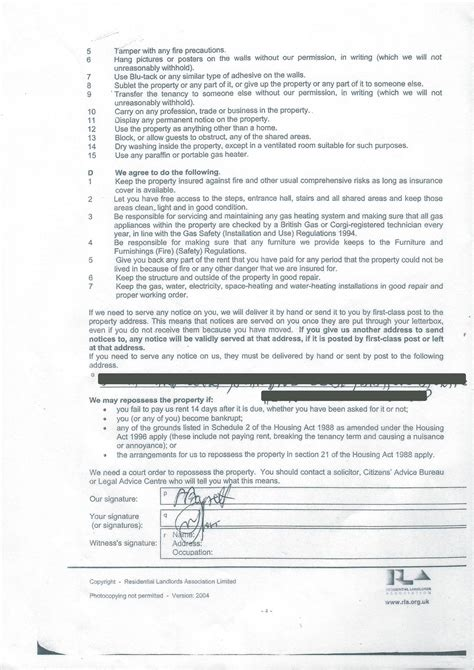 28 free assured shorthold tenancy agreement template