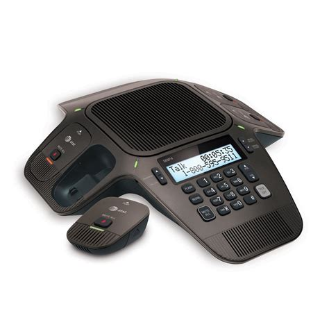conference room speakerphone at t sb3014 conference speakerphone with orbitlink wireless technology office