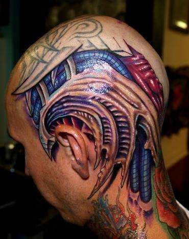 tattoo biomechanical 3d biomechanical tattoos tattoo designs on master of ink