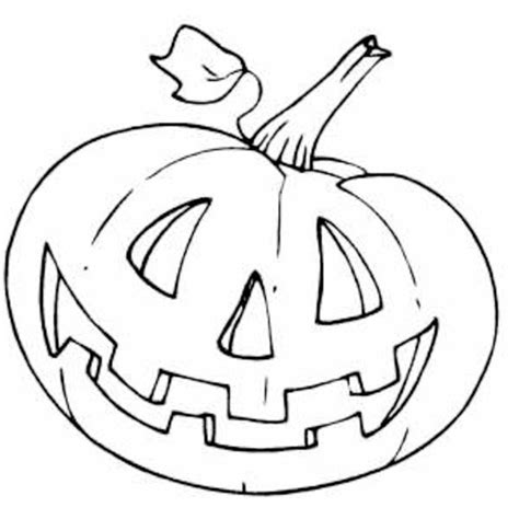 smiling pumpkin coloring pages happy halloween pumpkin coloring pages festival collections