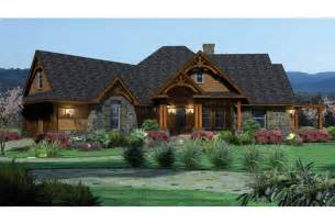ranch home plans with front porch home plan homepw09962 2091 square foot 3 bedroom 2