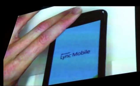 lync mobile client microsoft front facing cameras skype lync mobile client