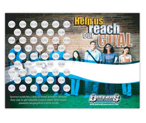 School Gift Card Fundraising - high school fundraisers scratch cards for high school fund raisers