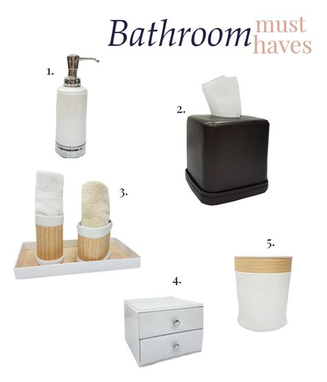 bathroom must haves bathroom must haves our favorite style