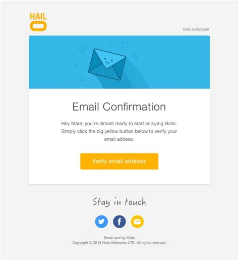 confirmation email template 211 best images about email design on