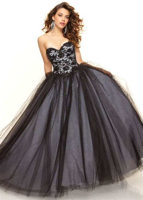 bal gowns paparazzi by mori lee 93033 black ball from rissy roo s prom