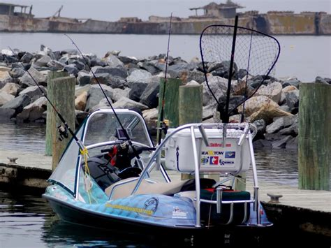 sea fishing boat equipment rigging another jet ski for fishing the hull truth