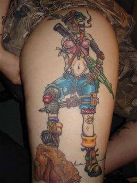 tank girl tattoo cult comic ink tank tattoos