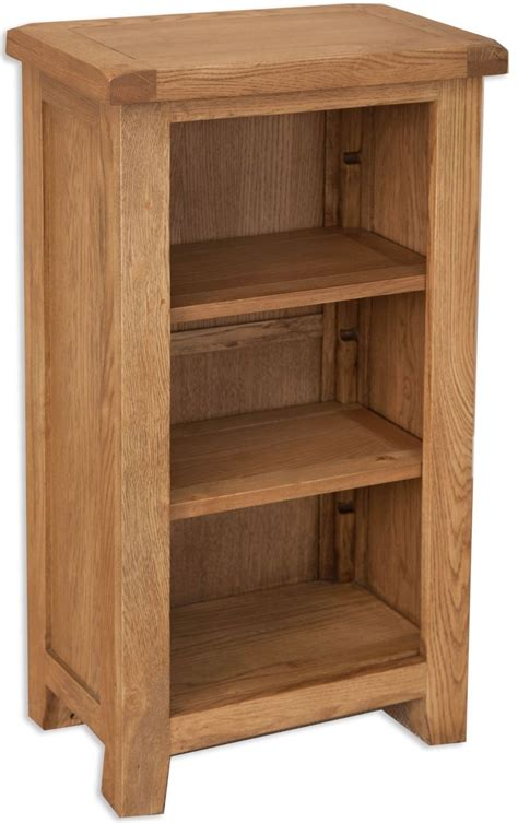 buy perth country oak bookcase small cfs uk