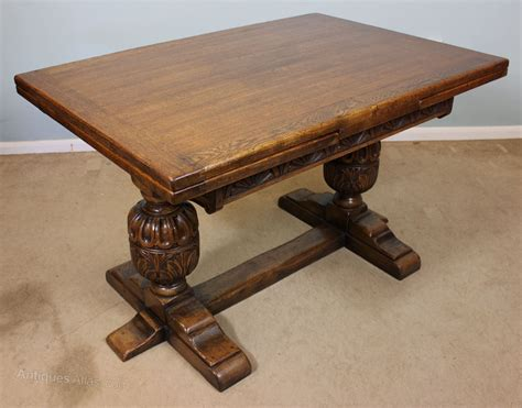 antique draw leaf table antique refectory draw leaf dining table antiques atlas