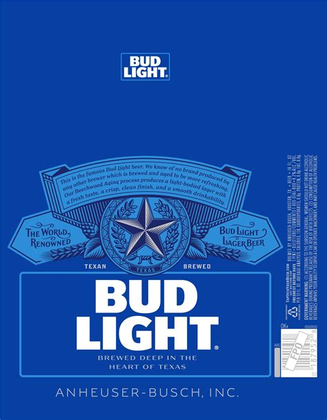 where is bud light brewed bud light to roll a texas label millercoors behind the beer