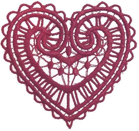 design logo transparent background lace heart transparent clipart