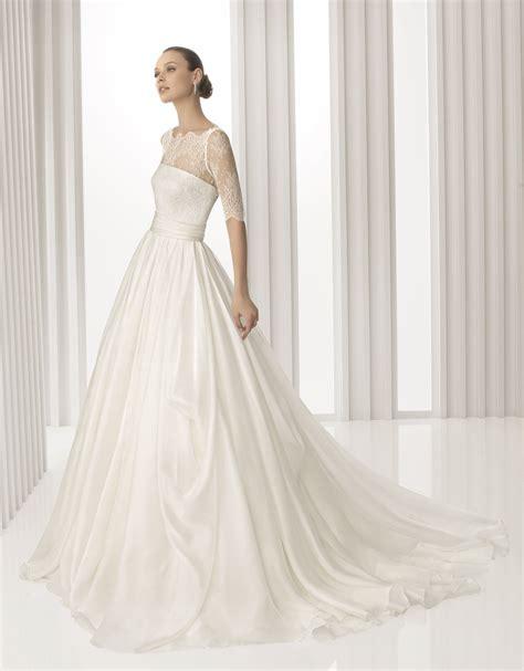 lace sheer wedding gowns kate middleton inspired 2012 rosa clara wedding