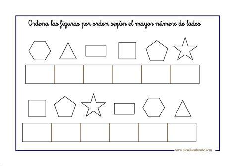 ejercicios de figuras geometricas figuras geom 233 tricas para infantil y primaria