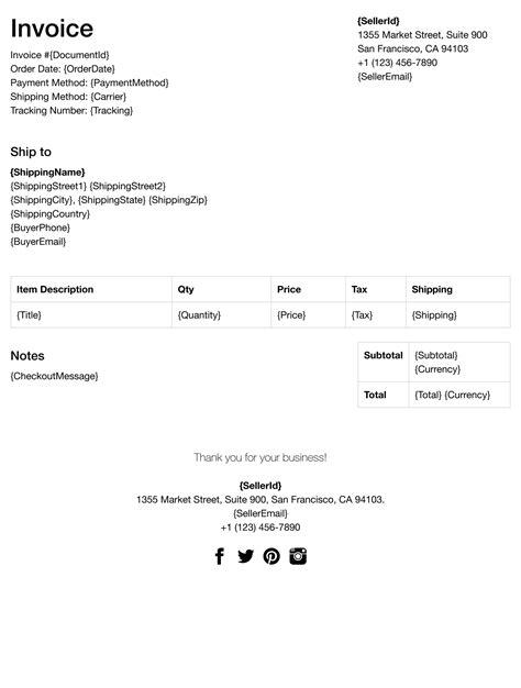ebay invoice template print your ebay orders fillbud