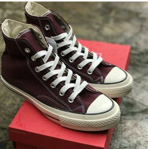 Sepatu Converse Ct 70s jual converse ct 70s maroon premium bnib sepatu converse ori premium sneaker casual oldskull