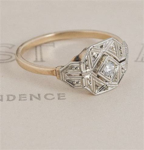 antique deco ring its fate