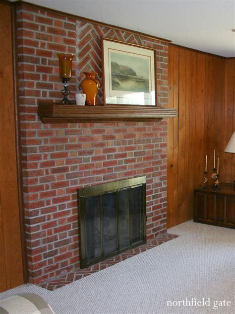 brick fireplace makeovers studio yuko jones brick fireplace makeover