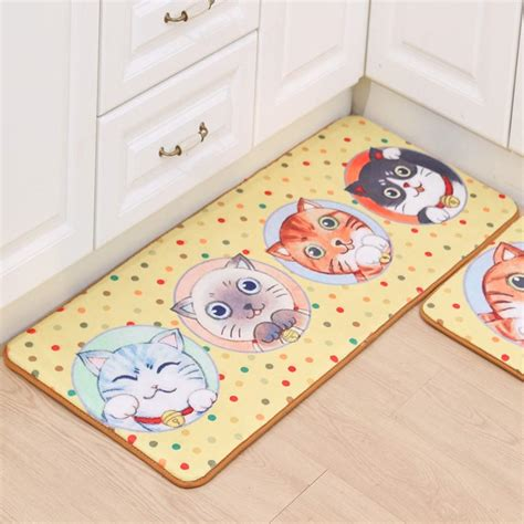 bedroom mats and rugs cute carton cat doormats bathroom bedroom anti slip door