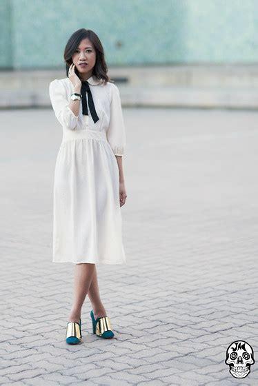 Ysls Muse In White Now On Asos issa rocks asos black white dress yves laurent