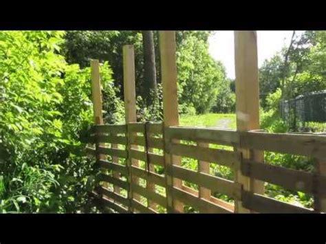 Cloture De Jardin En Bois