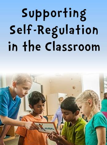 Corkboard Connections: Supporting Self-Regulation in the ... Examples Of Self Regulation In The Classroom