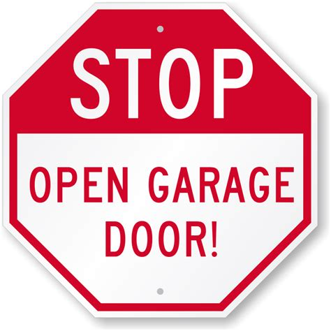 Garage Sign by Garage Parking Signs
