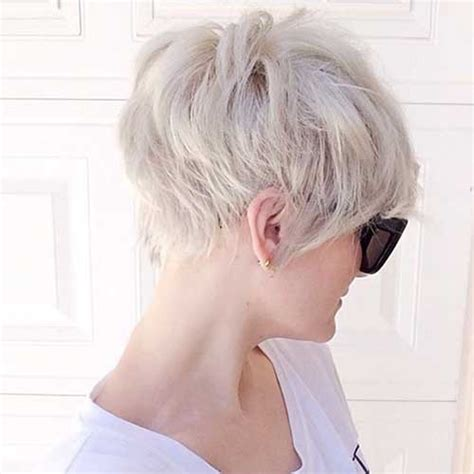 how to cut back of pixie haircut with electric razor pixie haircut back view the best short hairstyles for