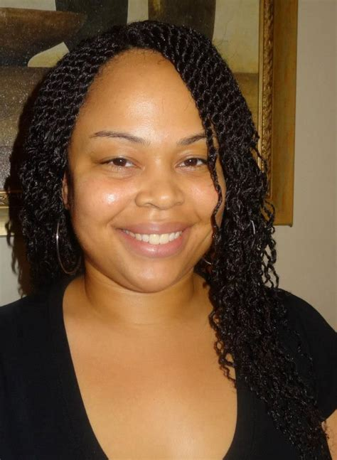 Weave Twists Hairstyles by Twist Crochet Weave W Wavy Ends Crochet Weave