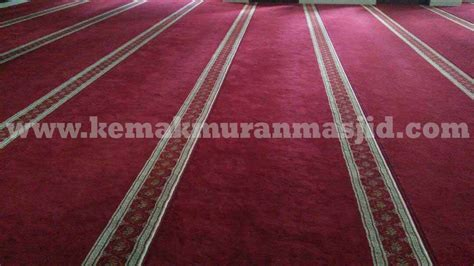 jual karpet masjid murah di makassar al husna pusat