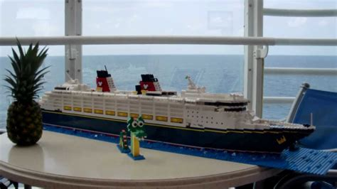 lego boat window lego disney wonder cruise ship youtube