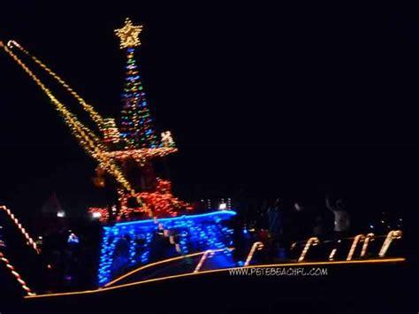 st pete beach boat parade st pete beach holiday boat parade 2014 st pete beach fl