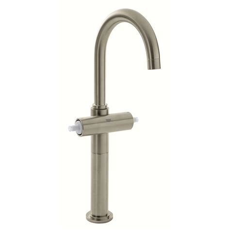 grohe single hole bathroom faucet grohe atrio single hole 2 handle 1 2 gpm vessel bathroom