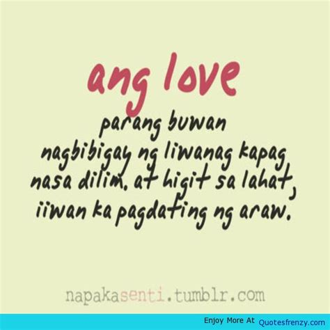 quotes about love quotes about life and love tagalog image quotes at